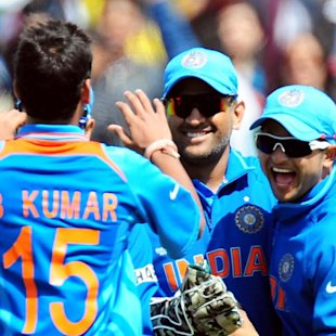 India retain squad for WI tri-series