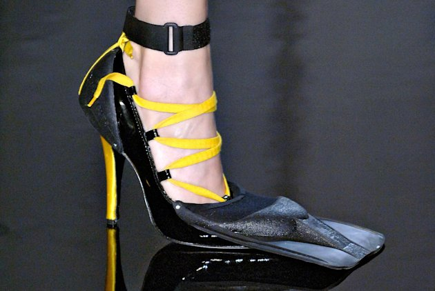 Jean Paul Gaultier 1977 Les Plongeuses Fin-Heels, S/S 2007