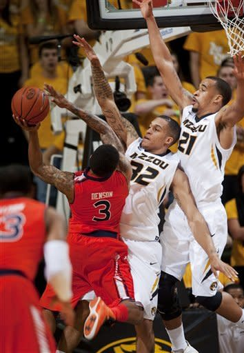Ross torments old team, No. 17 Mizzou tops Auburn