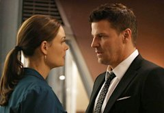 Emily Deschanel, David Boreanaz | Photo Credits: Beth Dubber/Fox