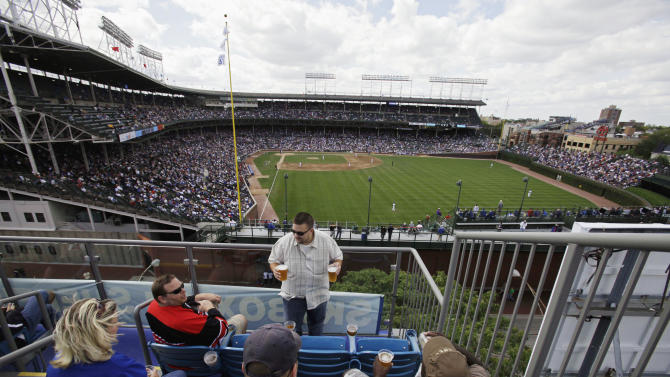 Battle between Cubs and rooftops heating up