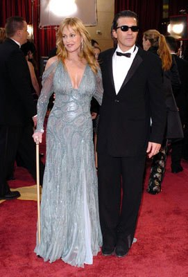 Melanie Griffith and Antonio Banderas 77th Annual Academy Awards - Arrivals Hollywood, CA - 2/27/05