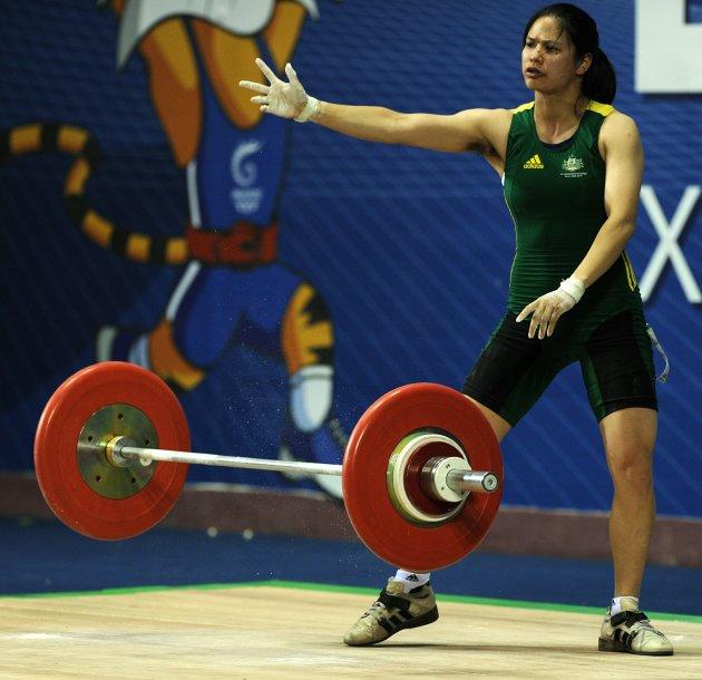 """La pesista australiana Seen Lee quedó séptima en la categoría hasta 63 kg., pero lo más notable de su participación en Londres 2012 fue su """"dejadez"""" a la hora de la depilación de axilas. Un"""