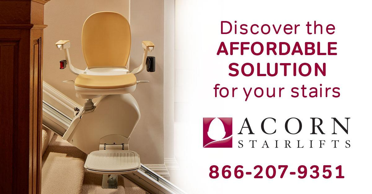 Make Life Easier with an Acorn Stairlift
