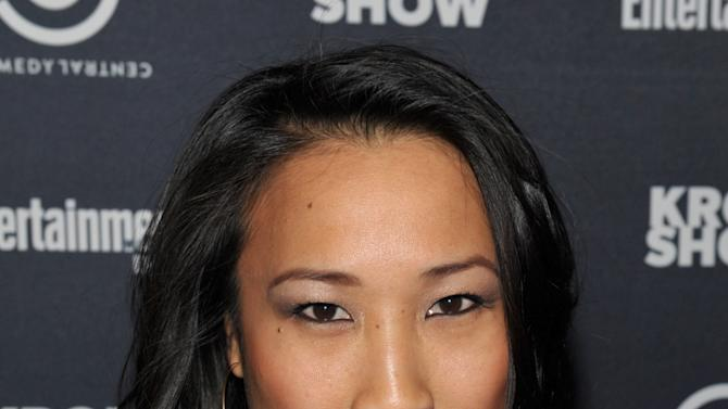 "Actress Tina Huang attends an exclusive screening of Comedy Central's ""Kroll Show"" hosted by Entertainment Weekly on Tuesday, January 15, 2013 at LA's Silent Movie Theatre in Los Angeles. (Photo by John Shearer/Invision for Entertainment Weekly/AP Images)"