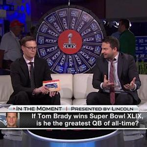 In the Moment: Is New England Patriots quarterback Tom Brady the greatest QB?