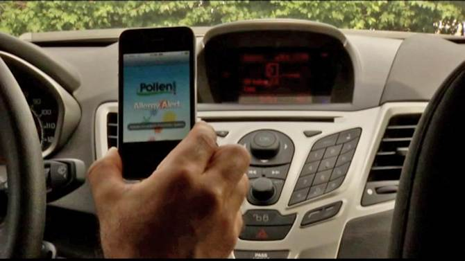 Car health apps to help drivers with diabetes, allergies