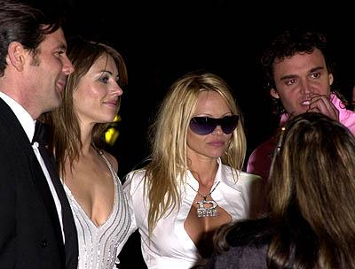 Elizabeth Hurley and Pamela Anderson 73rd Academy Awards Vanity Fair Party Beverly Hills, CA 3/25/2001