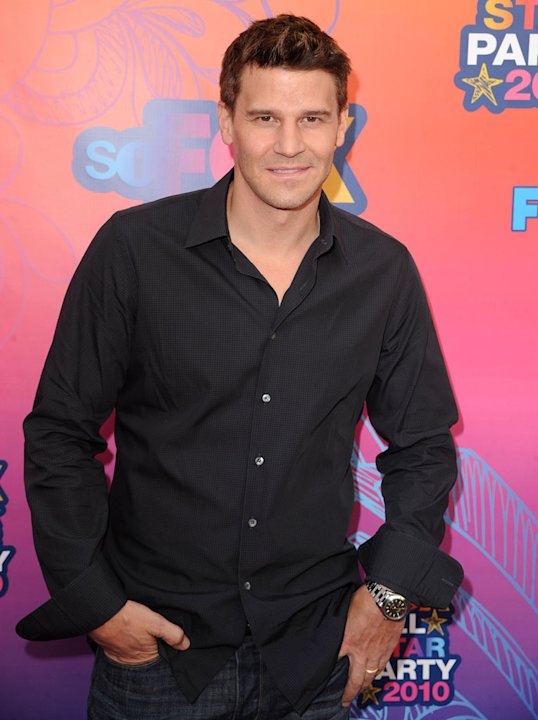 """Bones'"" David Boreanaz arrives at the Fox 2010 Summer TCA All-Star Party on August 2, 2010 in Santa Monica, California."
