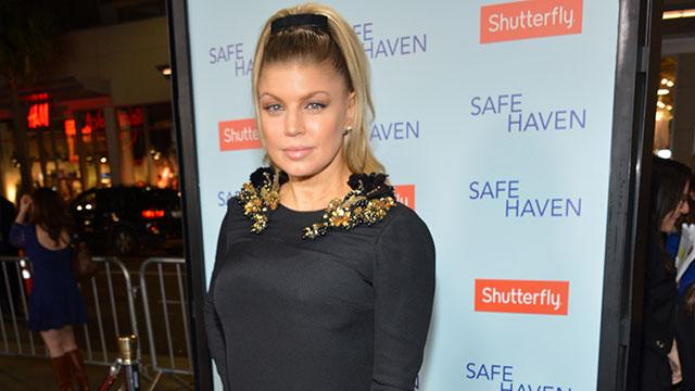 Fergie Reveals Unique Cure for Morning Sickness