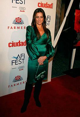 Giovanna Mezzogiorno at the Los Angeles AFI Fest screening of New Line Cinema's Love in the Time of Cholera