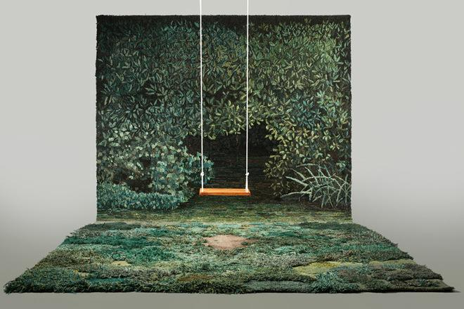Gorgeous Handmade Rugs Meant to Look Like Wild Landscapes