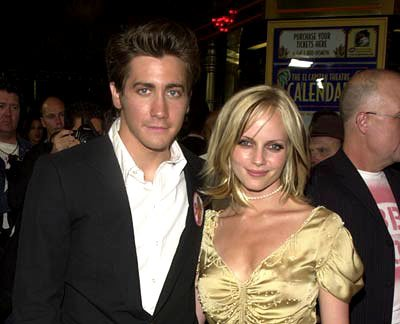 Jake Gyllenhaal and Marley Shelton at the Hollywood premiere of Touchstone's Bubble Boy