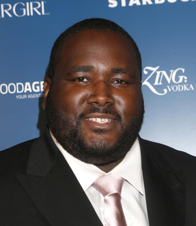 Quinton Aaron attends the US Weekly AMA After Party for The Wanted at Lure on Sunday November 19, 2012 in Los Angeles, California.  (Photo by Todd Williamson/Invision/AP Images)