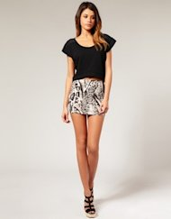 asos snake tube skirt
