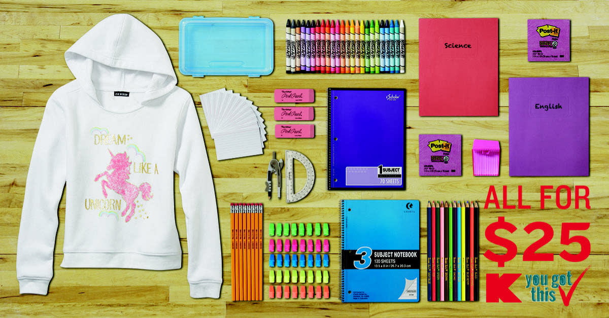 Back to School Deals at Kmart®