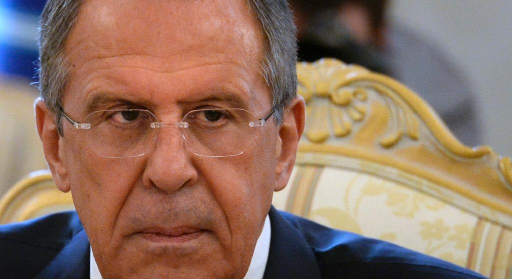 Russian FM dimisses 'absurdity' of EU anger over entry bans