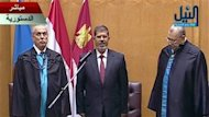 Le prsident gyptien Mohamed Morsi a dress le bilan de ses 100 premiers jours au pouvoir, samedi, en avouant prendre du retard dans les objectifs qu&#39;il s&#39;tait fixs