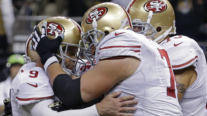 Kaepernick, 49ers beat Saints in OT thriller 27-24