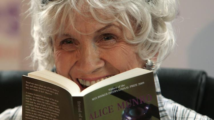 CORRECTED: Books and stories by Nobel Laureate Alice Munro