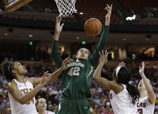 Sims, Griner lead No. 1 Baylor over Texas 75-48