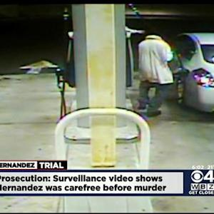 Surveillance Video Shows Hernandez Dancing Before Odin Lloyd's Murder