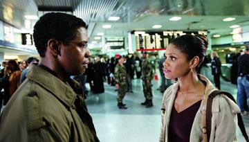Denzel Washington and Kimberly Elise in Paramount Pictures' The Manchurian Candidate