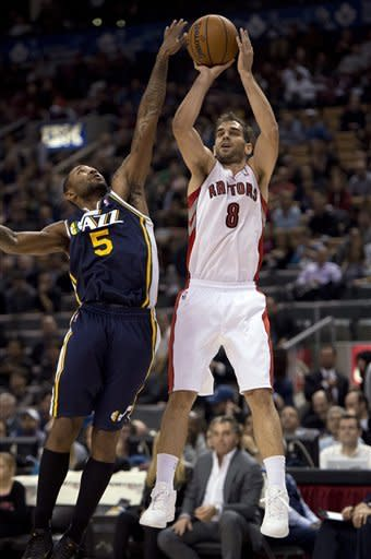 Jefferson, Millsap lead Jazz over Raptors in 3 OTs