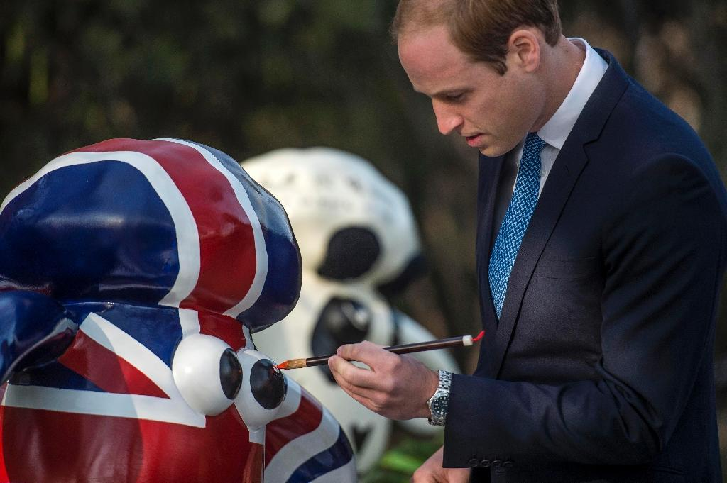 Imperial splendour for Prince William on China visit