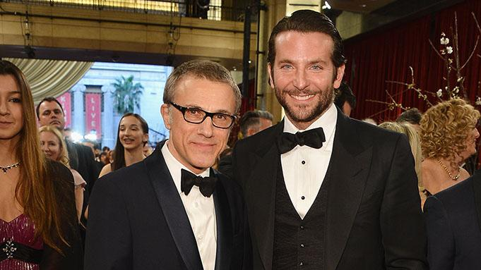 85th Annual Academy Awards - Executive Arrivals: Christoph Waltz and Bradley Cooper