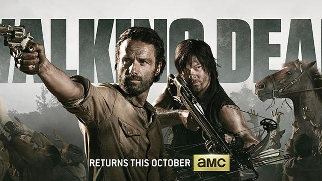"""The Walking Dead"" Season 4 Banner"