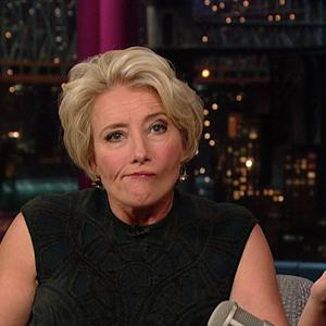 David Letterman - Emma Thompson In The Wild