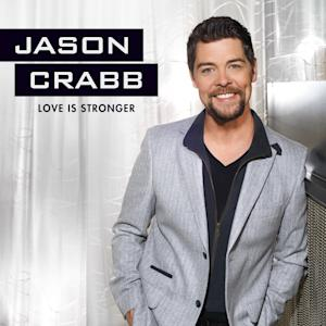 """This CD cover image released by Gaither Music Group shows """"Love is Stronger,"""" by Jason Crabb. (AP Photo/Gaither Music Group)"""