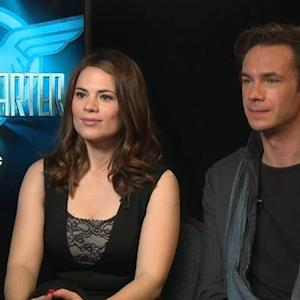 Hayley Atwell and James D'Arcy Reveal What It Takes To Be an 'Agent Carter' Badass!