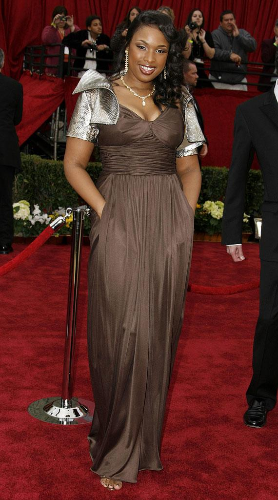 "Jennifer Hudson, nominee Best Actress in a Supporting Role for ""Dreamgirls"" at The 79th Annual Academy Awards."
