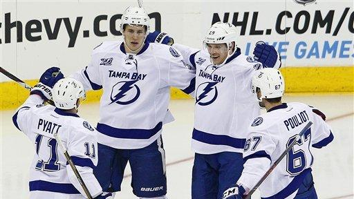 Aulie, Lightning top Hurricanes, 4-1