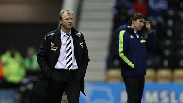 Steve McClaren admits his side were lucky against Middlesbrough