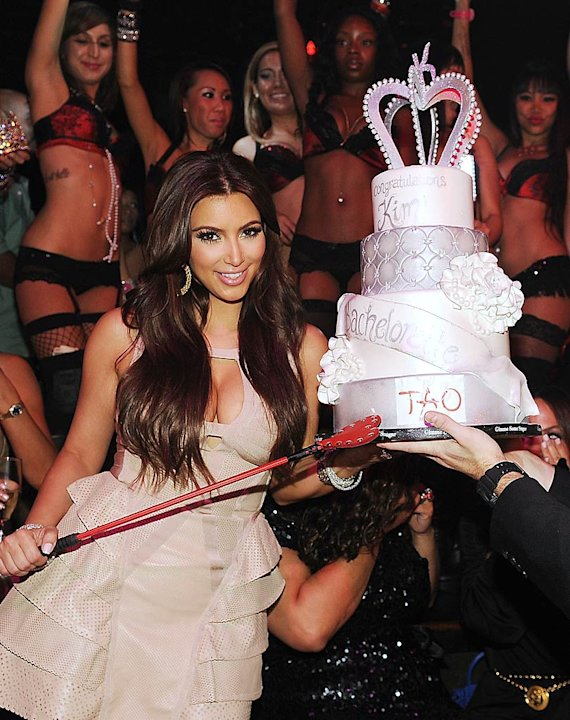 Kim Kardashian Bachelorette Prty