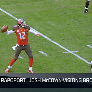 Is free-agent quarterback Josh McCown a good fit for the Cleveland Browns?