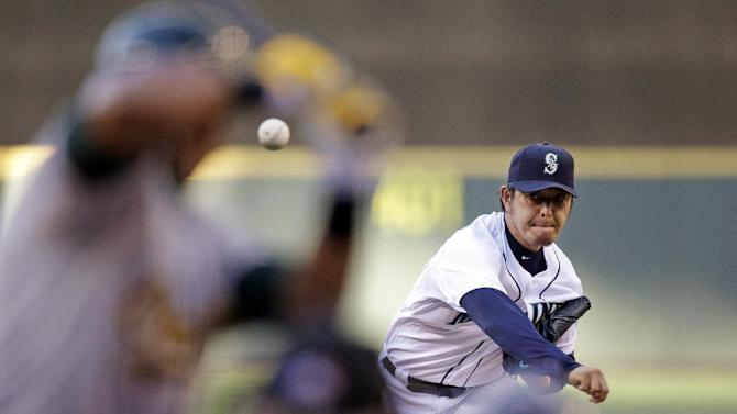 Seager, Cano homer to lift Mariners over A's 6-2