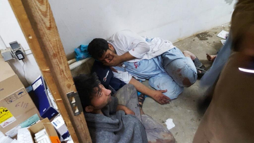 UN slams 'inexcusable' Afghan hospital air strike that killed 19