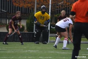 Eastern field hockey goalie Alana Barry