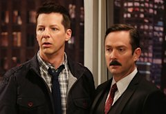 Sean Hayes, Thomas Lennon | Photo Credits: Chris Haston/NBC