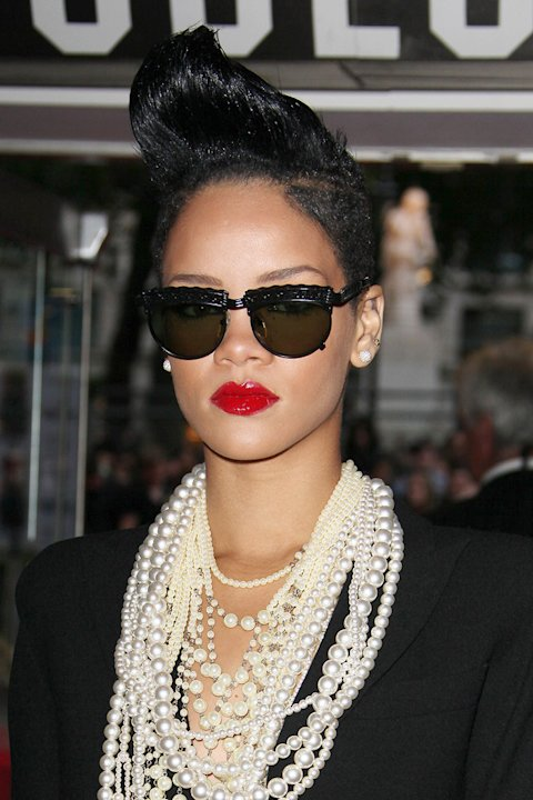 Inglourious Basterds UK Premiere 2009 Rhianna