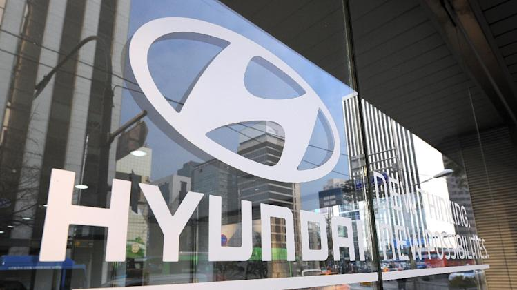 South Korea's Hyundai Motor says its second-quarter net profit slumps 6.9% from a year earlier