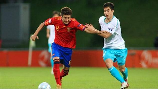Premier League - Palace sign Spain U20 skipper Campana