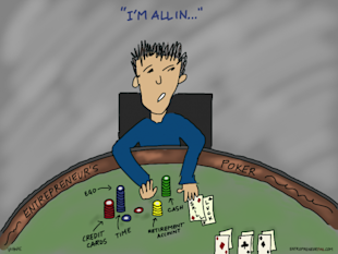 I'm All In: Why is Entrepreneurship Like Poker? image entrepreneurfail Entrepreneurs Poker 600x450