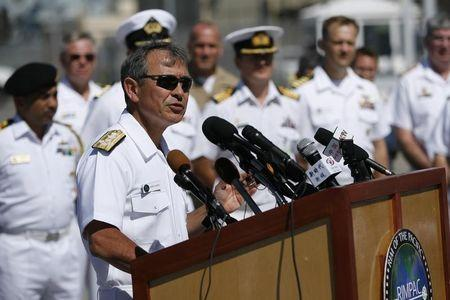 U.S. commander says U.S. must exercise freedom of navigation in Asia-Pacific