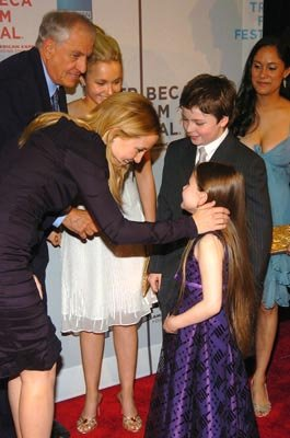 Garry Marshall, Kate Hudson, Hayden Panettiere,  Abigail Breslin, Spencer Breslin and Sakina Jaffrey Tribeca Film Festival, May 1, 2004