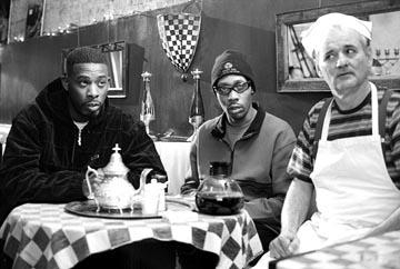 GZA , The RZA and Bill Murray in United Artists' Coffee and Cigarettes